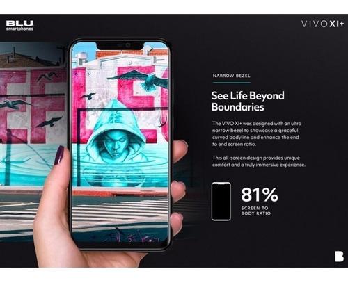 smartphone blu vivo xi+ dual 6.2  fhd 64gb/4gb lançamento