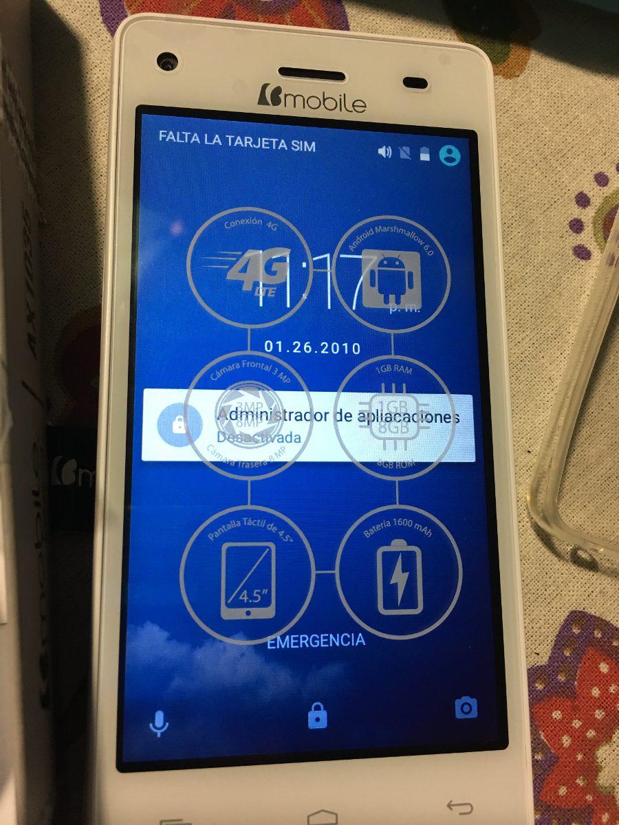 Smartphone Bmobile Ax1035 Nuevo Android Whatsapp
