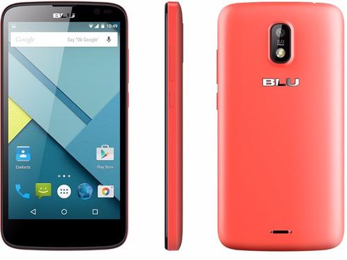 smartphone celular blu studio g rosado android camara