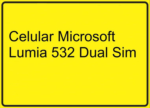 smartphone celular microsoft lumia