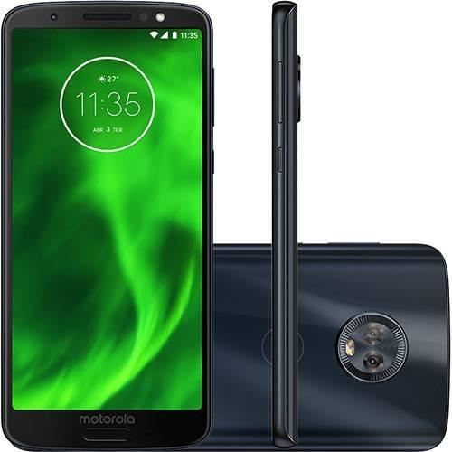 679a89fec Smartphone Celular Moto G6 Plus Indigo 64gb Envio Imediato - R ...