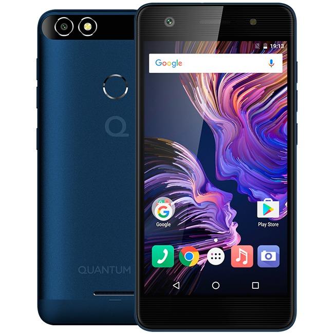 Smartphone Celular Quantum You Azul + Pulseira Swarovski - R  649,00 ... 322950de13