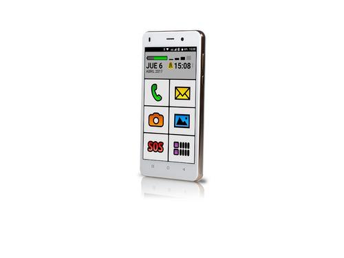 smartphone celular spanky facil 4g adultos mayores-liberado
