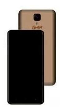 smartphone ghia q01a 5.0 1gb 8gb android 7 2mp 5mp dorado