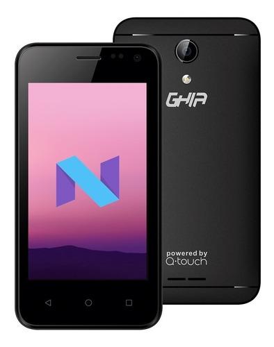 smartphone ghia  q05a 4.0 pulg  android 7  1gb 8gb negro