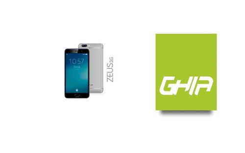 smartphone ghia zeus 5.5  android 7 1gb 8gb gris fingerprint