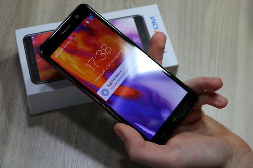 smartphone homtom s12 android 6.0 original usado para review