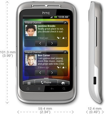 Smartphone Htc Wildfire G8 Android Os Gps Touch 3g Wi-fi ...