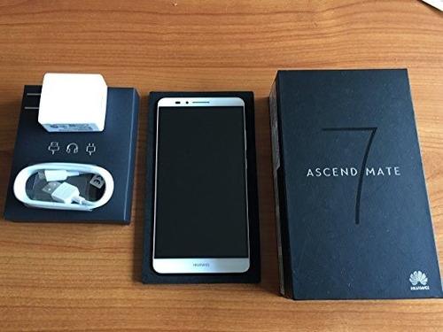 smartphone huawei ascend mate 7 4g 16 gb completo en caja
