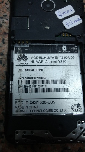 smartphone huawei ascend y330