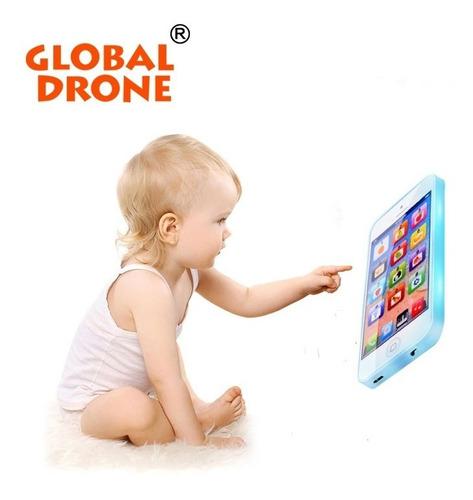 smartphone juguete educacional simulador niños color blanco
