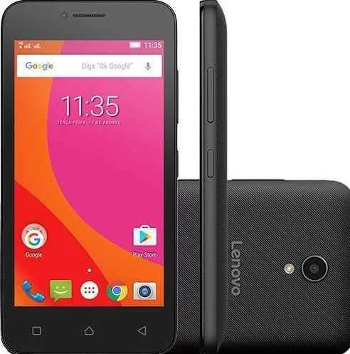 smartphone lenovo vibe b dual chip 4.5 8gb 4g - vitrine