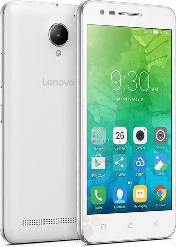 smartphone lenovo vibe c2 dual chip 8gb tela 5 branco 4g