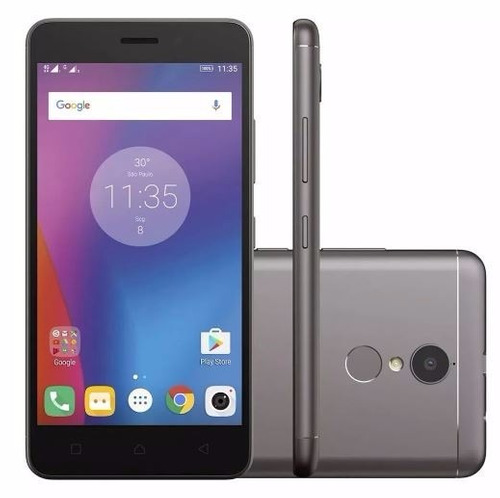 smartphone lenovo vibe k6 16gb 5'' câmera 13mp 12x - s/ fone