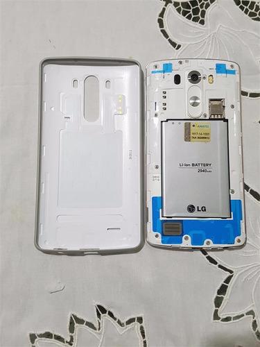 smartphone lg g3 d855 + capa slim original + estado de novo