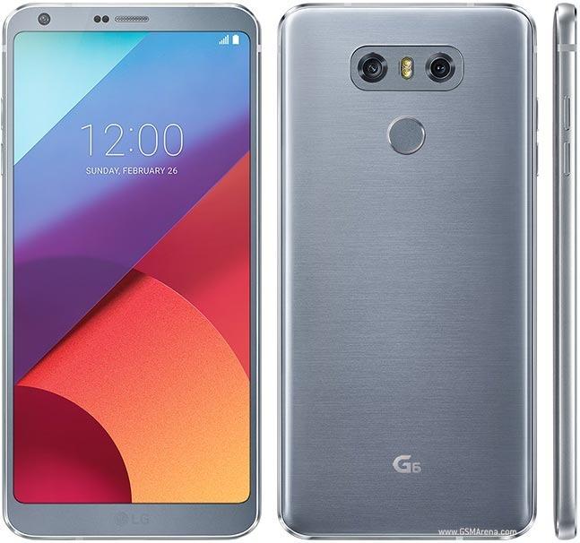 9dedbe64f Smartphone Lg G6 Lgh870 32gb Tela 5.7   Platinum+nota Fiscal - R  2.099