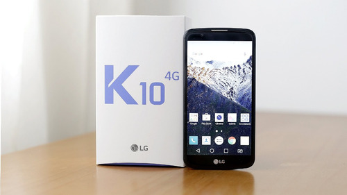 smartphone lg k10 dual chip android 6 tela 5.3 16gb 4g