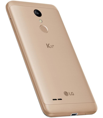 smartphone lg k11+ 32gb 4g android 7.1 dourado