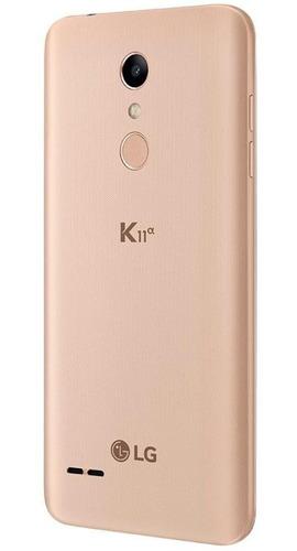 smartphone lg k11a alpha 16gb câmeras 8mp 5mp biometria