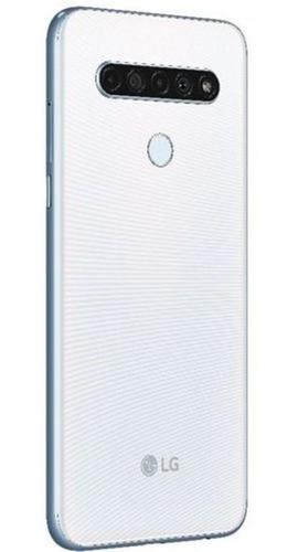 smartphone lg k61 6.53 octacore 128gb câmera 48m+w8m+d5m+m2m