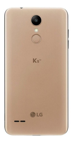 smartphone lg k9 com tv digital dourado 16gb 5  camera 8mp
