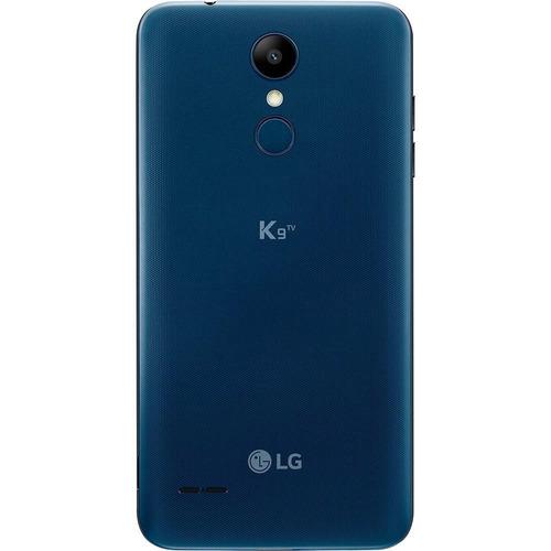 smartphone lg k9 tv azul com 16gb, tela 5.0  hd, android 7