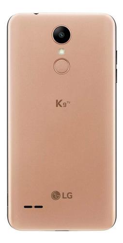 smartphone lg k9 tv lmx210bmw 16gb dourado android 7.0 novo