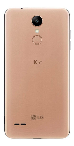 smartphone lg k9 tv lmx210bmw 16gb dourado hd android 7.0