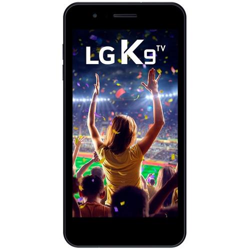 smartphone lg k9 x210 tv, quad core, android 7.0, tela 5, 16