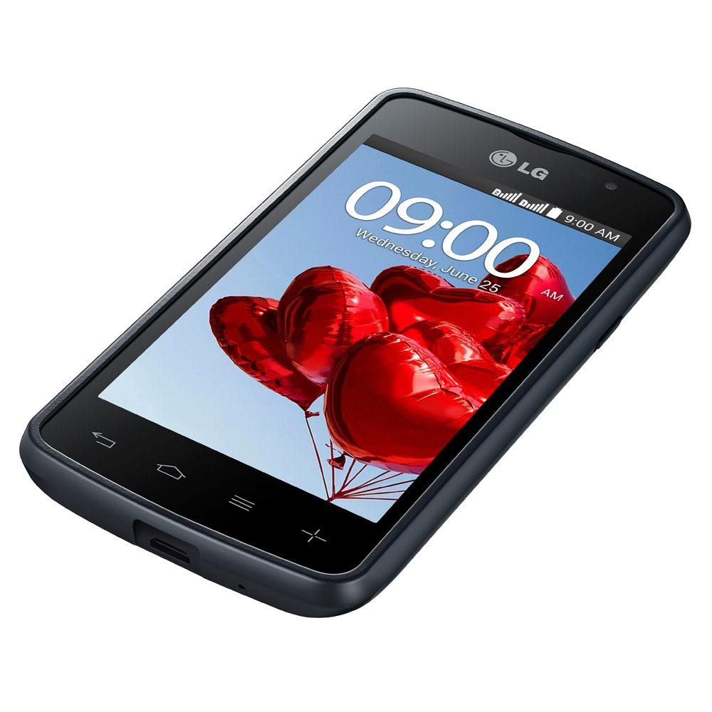 7a43b50b4ab Smartphone Lg L50 D227 4g Dual Tv 5mp 4'' Preto Vitrine 2 - R$ 299,00 em  Mercado Livre