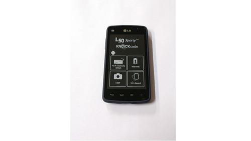 smartphone lg l50 sporty 4gb 3g 5mp tv - preto (vitrine)