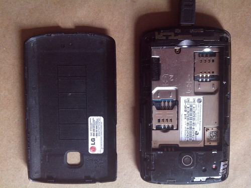 smartphone lg optimus dual chip e android 4.1