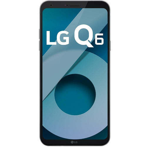 smartphone lg q6, dual chip, platinum, tela 5.5 , 13mp, 32gb