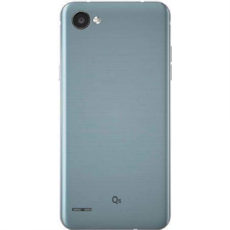 smartphone lg q6 platinum lgm700tv, tela de 5.5 , 32gb, 13mp