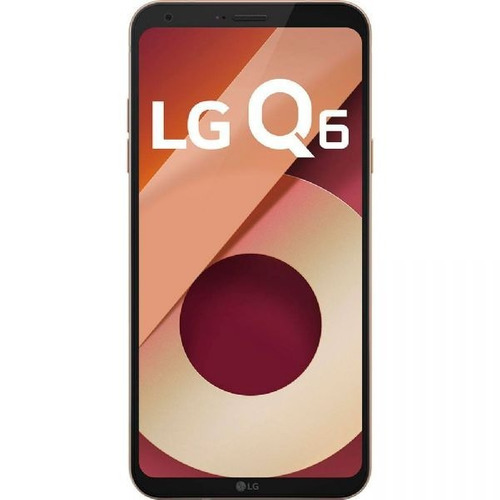 smartphone lg q6 rose gold lgm700tv, tela de 5.5 32gb 13mp