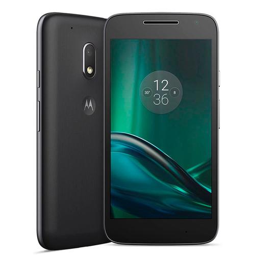 smartphone moto g4 play preto 16gb 5'', dual, 4g promoção