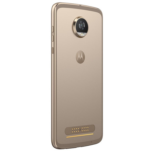 smartphone moto z² play power edition ouro - 12mp+frontal