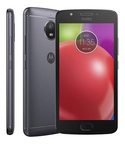 smartphone motorola e4 xt1763 titanio dual chip 16gb 8mp 4g