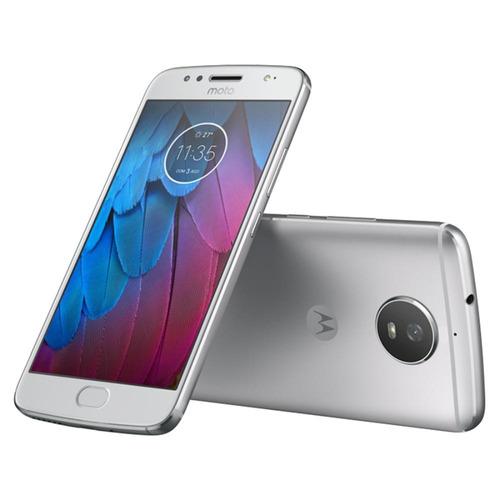 smartphone motorola moto g5s prata 5,2  android 7.1.1 nou