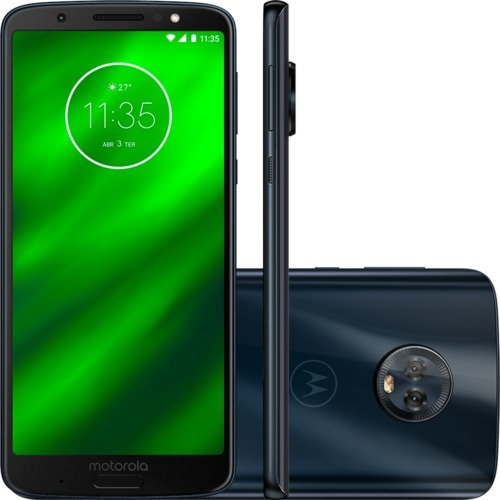 f1f2ff339 Smartphone Motorola Moto G6 Plus 64gb 4gb Octacore 2.2ghz - R  1.797 ...