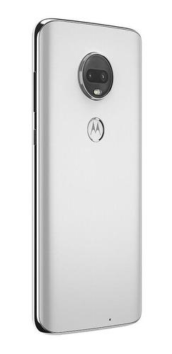 smartphone motorola moto g7 branco, tela 6,24, 64gb