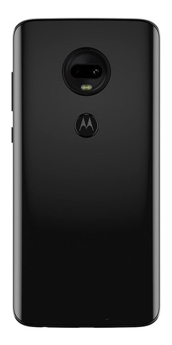 smartphone motorola moto g7 onix, dual chip, tela 6,24, 64gb