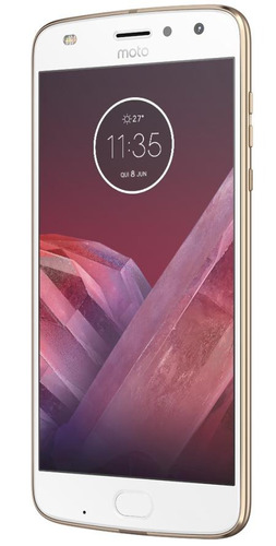 smartphone motorola moto z2 play ouro 5,5  android 7.1.1