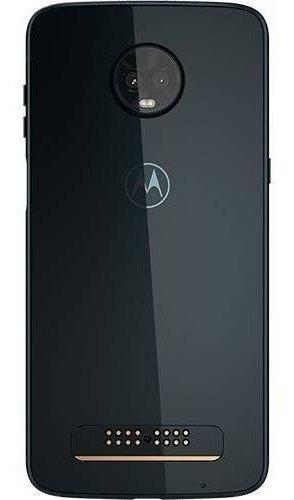 smartphone motorola moto z3 play 128gb + moto snap power pack & tv digital, ônix