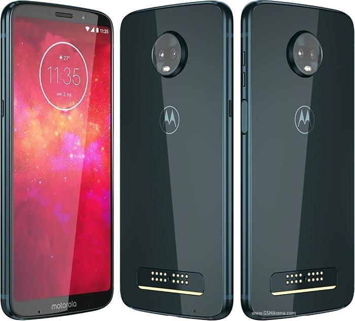 2c3796bf7be Smartphone Motorola Moto Z3 Play 4gb Ram Deep Indigo Oferta ...