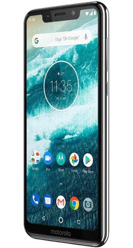 smartphone motorola one 5.8  4gb/64gb branco - xt1941-3