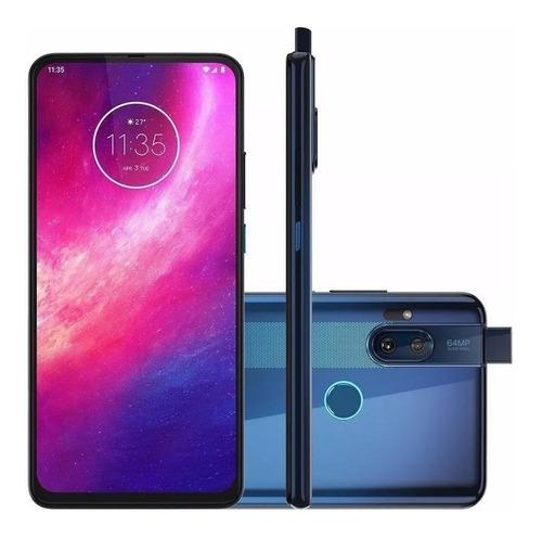 smartphone motorola one hyper azul oceano 6,5 - xt2027-1
