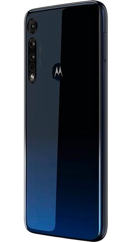 smartphone motorola one macro 64gb 6,2  câmera tripla azul