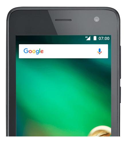 smartphone ms45 4g tela 4,5 câmera 8mp+5mp android 7.0 1gb r