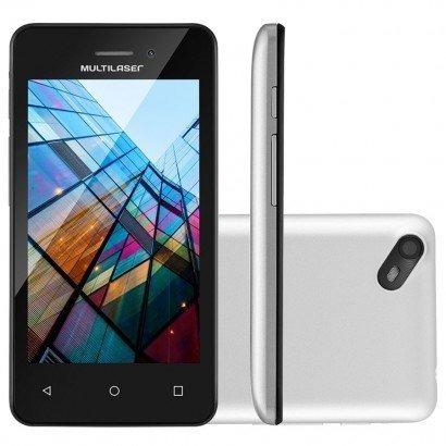 smartphone multilaser ms40s dual tela 4.0 3g 8gb 5mp novo
